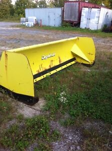 Snow blade Skid steer and Euro quick attach