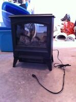 Faux Fireplace Space Heater