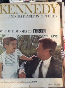 Kennedy and his family in pictures