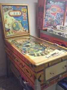 OLD WOODRAIL PINBALL MACHINES WANTED