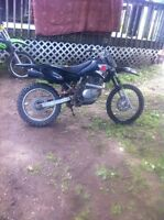Drz 125L special 2007 asking 1500 obo