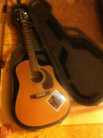 Seagull Guitar w/ extras, little tlc needed
