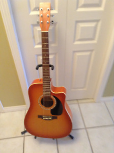 Art Lutherie Acoustic/electric Cutaway Guitar