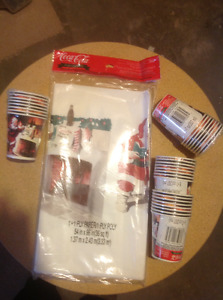 Coca-Cola Christmas Party Supplies