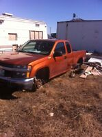 Parting Out 2006 Chevy Colorado