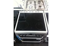BEKO electric ceramic NEW ex-display double oven cooker with fan assistance sold with a warranty