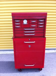 Beach tool chest and roller cabinet