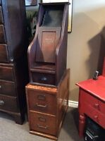 Antique file cabinets
