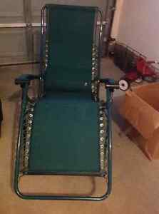 French-made folding lounge chair
