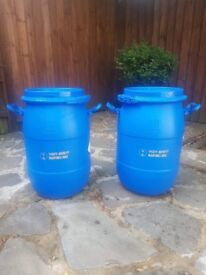 25kg 25 litre storage barrels/ drums
