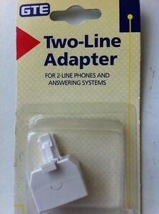 Two Line Phones Adapter and answering Systems - NEW