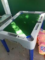 Kids pool table/hockey/ping pong