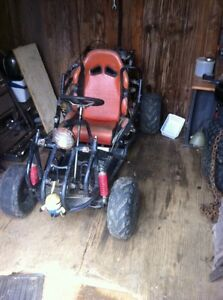 Selling my Honda go-cart 200cc with 5 gears