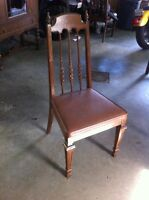 Wooden table 5 chairs