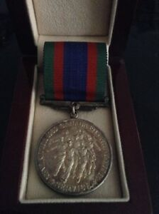Rare Antique World War Two sterling silver 925 War Medal
