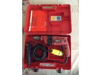 HILTI HAMMER DRILL TWO SPEED DRILL 110VOLT FOR SALE