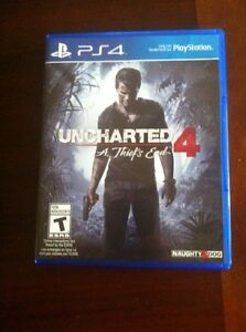 Uncharted 4 ...ps4