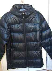 Columbia down filled winter jacket