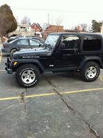 2004 Jeep TJ Rubicon trade for truck