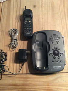 Uniden brand  portable /cordless phone and answering machine