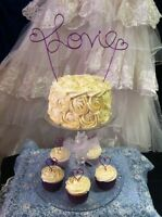 GIVEAWAY- Free Custom Wire Cake Topper