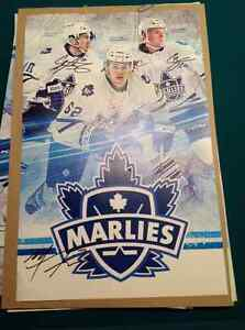 Toronto Maple Leaf Connor Brown signed poster