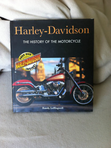 Harley Davidson hard cover book THE HISTORY OF THE MOTORCYCLE