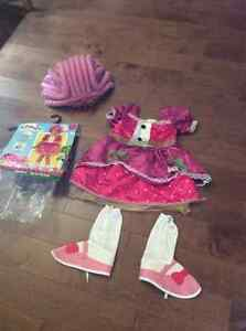 Like new Lalaloopsy Jewell Sparkles Costume size S (4-6)