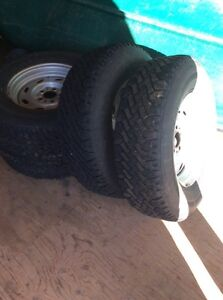 235/75r16 winter tires with rims