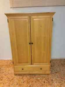 Solid Pine Armoire for sale