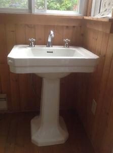 Joli lavabo style champêtre