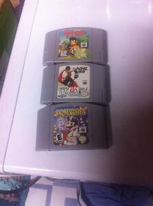 Nintendo 64 , N64 Games