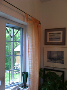 Light and lovely curtains, 4 panels