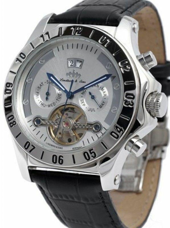Lindberg & Sons Python Herren-Armbanduhr Automatik Uhren Herren