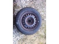 Winter/snow tyres for zafira/vauxhall