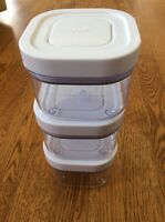 OXO pop food storage containers