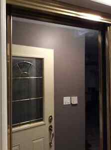 Two Gold Trimmed Mirrored Doors Sarnia Sarnia Area image 2