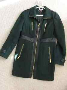 Ladies fall weight army style car coat Stratford Kitchener Area image 1
