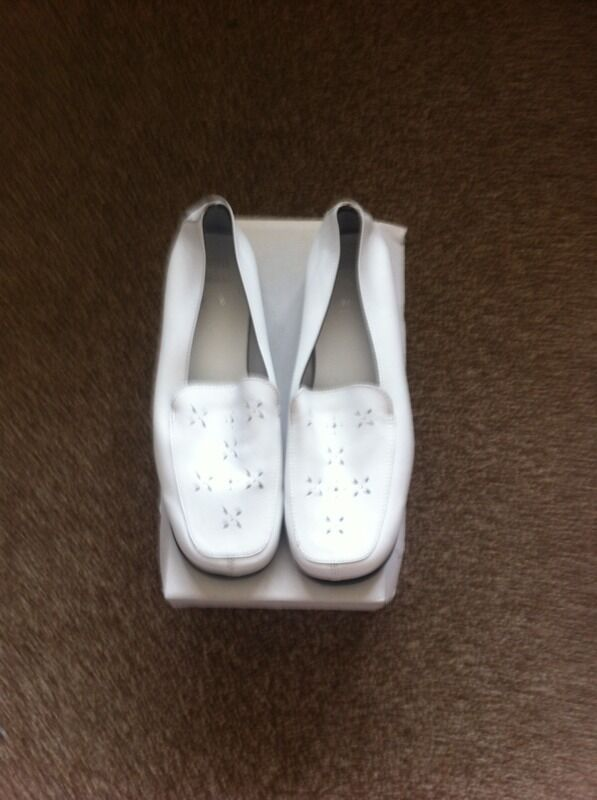 white marks and spencer shoes never purchase sale and