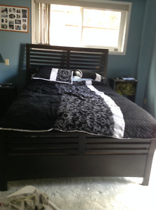 4 piece bedroom set,with 47inch 3D LCD tv and stand
