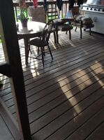 FULL DECK AND PATIO!!!!
