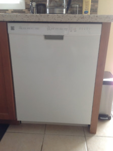 Dish washer Kenmore Elite white