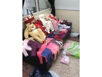 Job lot baby clothes