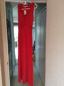 Robe maxi rouge