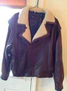Men's Leather Jacket  REDUCED PRICE