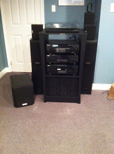 Complete Kenwood Stereo System