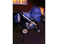 All in 1 pushchair