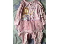 All in one Pyjamas aged 4-5yrs