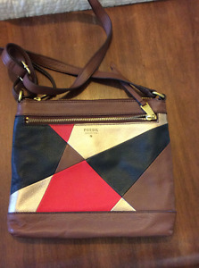 Patchwork Cross body purse by Fossil