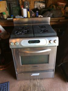 30 inch kitchenaid Natural  Gaz  stove